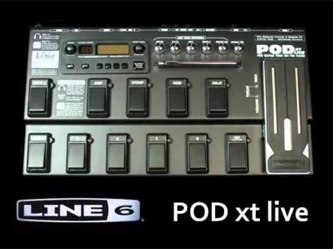 + De 40000 Patches Pedal Pod Xt Live E Manual Em Portugues