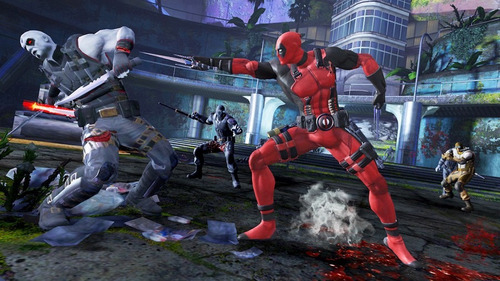 ..:: deadpool ::.. para xbox  360 en start games.