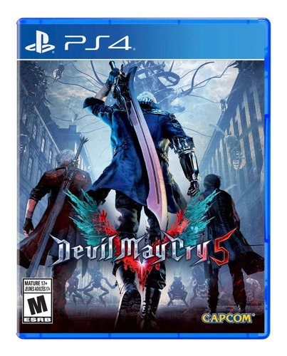 .. devil may cry 5 .. para playstation 4 start games a meses