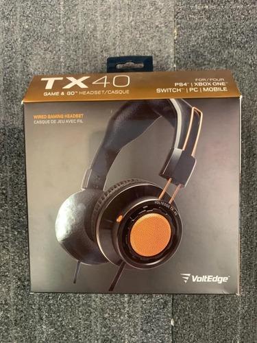 ..:: diadema headset voltedge tx40 gold multiplataforma ::..