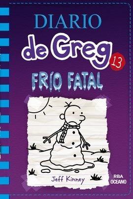 ** diario de greg 13 ** frio fatal jeff kinney