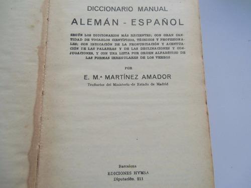 * diccionario cuyas alemán-español, español-alemán.