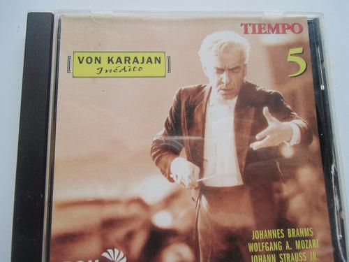 + disco cd de von karajan inédito núm. 5. original