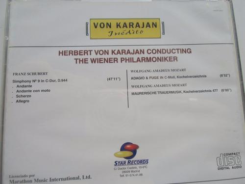 + disco cd de von karajan inédito núm. 8. original