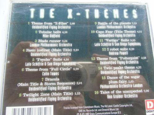 + disco cd de x themes