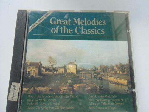 + disco cd great melodies of the classics original