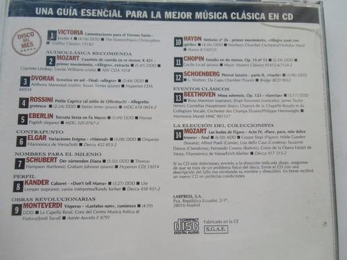 + disco cd original de obras revolucionarias de la música