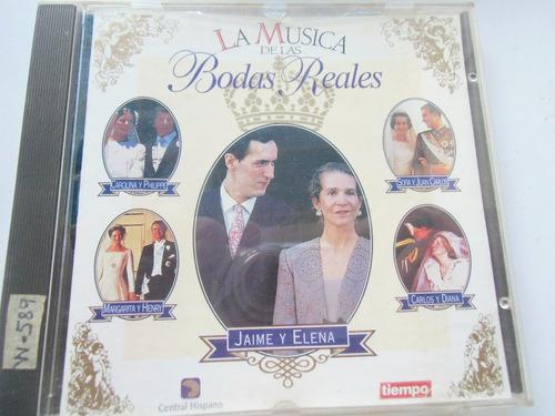 + disco con la música de cinco bodas reales original