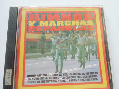 + disco de himnos y marchas españolas original