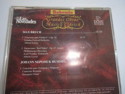 + disco de musica clásica original bruch y hummel