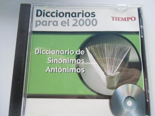 + disco diccionario sinónimos y antónimos original importado