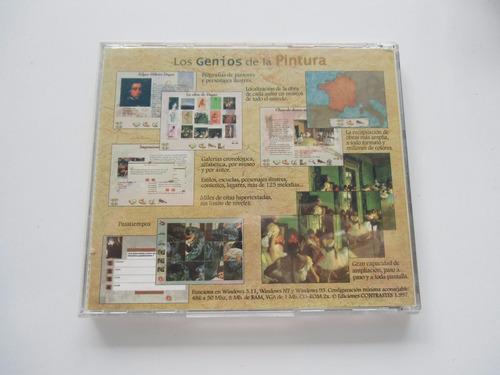 + disco genios de la pintura: ingre. original importado