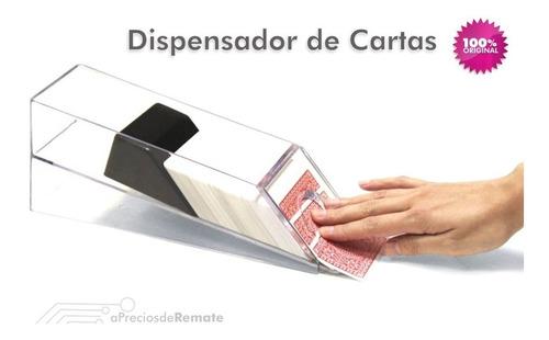 ¡ dispensador acrílico de cartas para 6 barajas mazos  !!