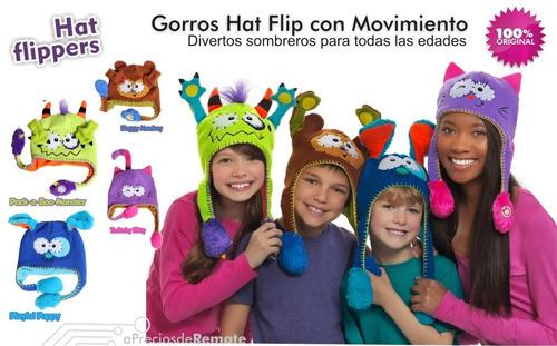 ¡ divertido gorro hat flip mvmto niños juego monstruo new !!