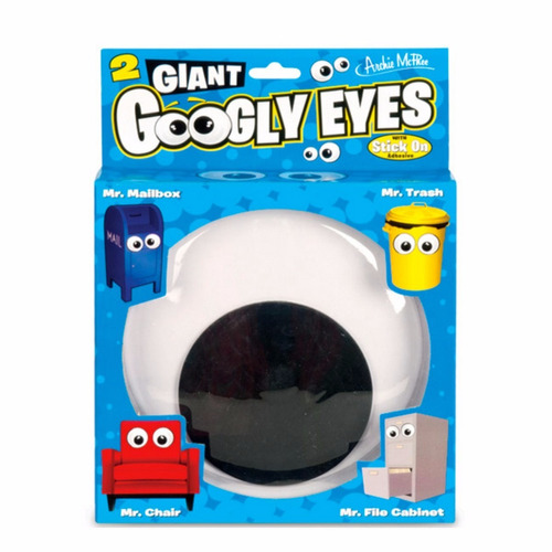 ¡ divertidos googly eyes gigantes x2u decora obj big ojos !!