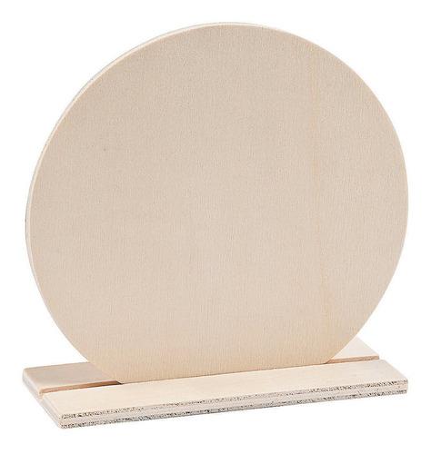 - diy wood circle stand up - kits de manualidades - dyo...