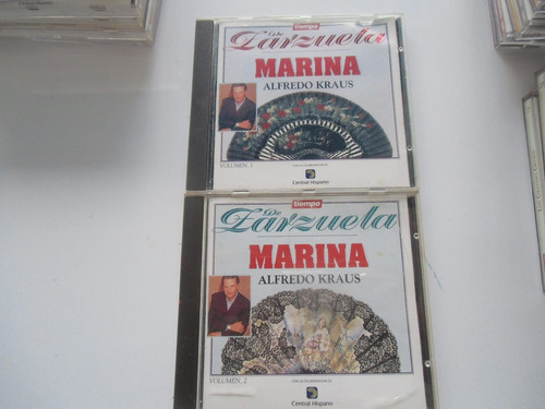 + dos cds de zarzuela marina krauss original importados