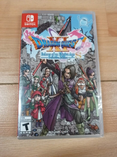 ..:: dragon quest xi s echoes of an elusive age ::.. switch