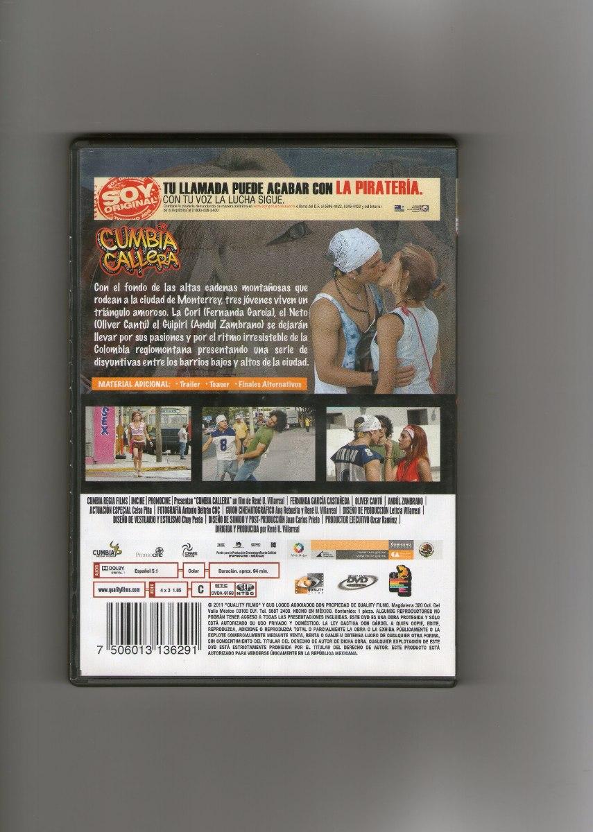 : Dvd Cumbia Callera :  Dvd !!! - $ 175 00
