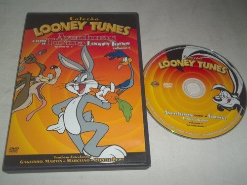 * dvd - looney tunes - infantil