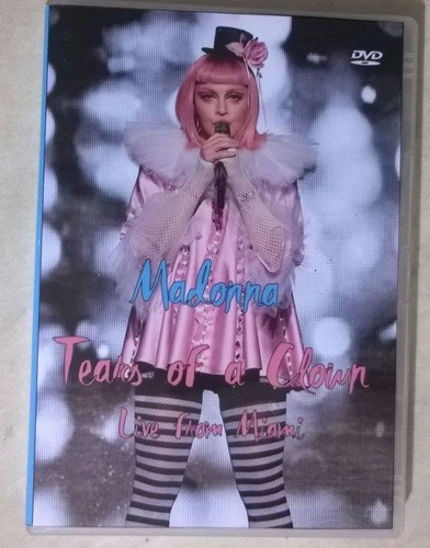 * dvd madonna tears of a clown legendado - frete gratis