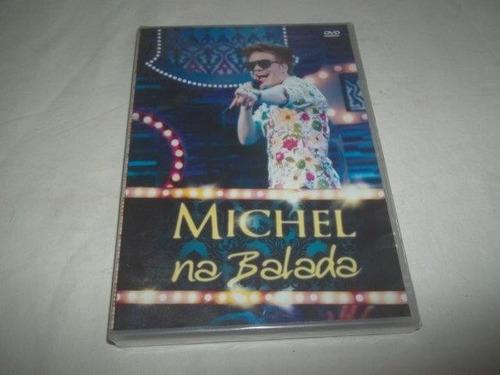 * dvd - michel na balada - sertanejo