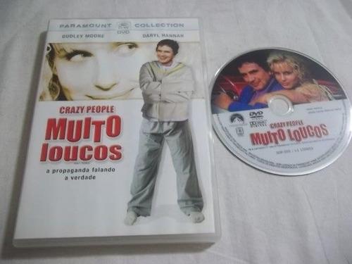 * dvd - muito loucos - comédia