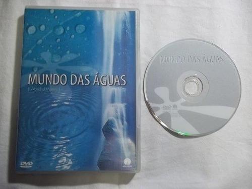 * dvd - mundo das águas - documentarios