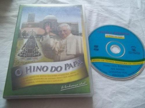 * dvd - o hino do papa - religião