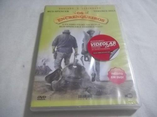 * dvd - os encrenqueiros - faroest