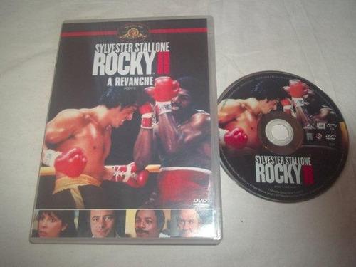 * dvd - rocky i i  a revanche - ação