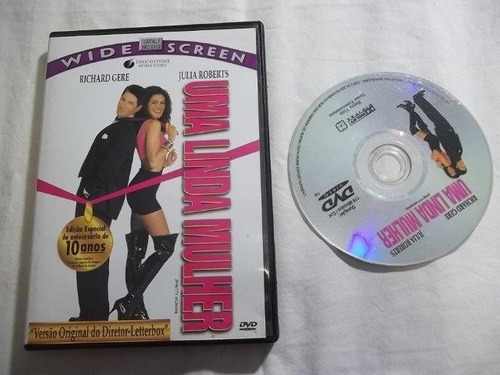 * dvd - uma linda mulher - comédia