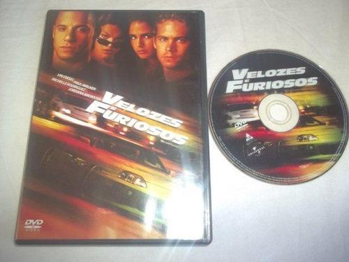 * dvd - velozes fúriosos - ação