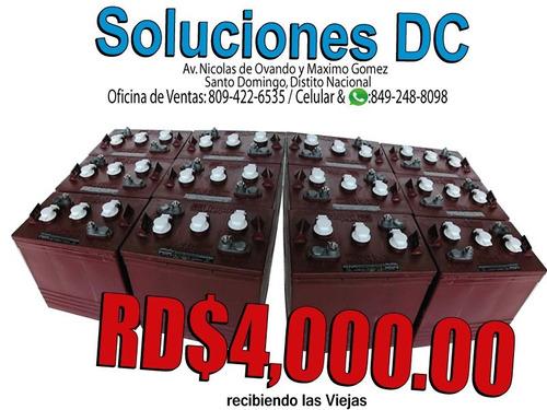 (( e specia l )) inversor 1.2 kilos + baterias trojan rojas