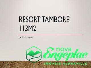 - ed. resort tamboré  torre b av. marcos penteado de ulhoa rodrigues, nº 3800 andar alto - ap01649 - 31916912