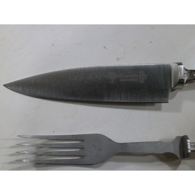 El Lapacho Cuchillo Y Tenedor   Encabar Piezas Inoxidable
