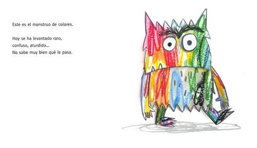 ** el monstruo de colores **  anna llenas ed pequeña