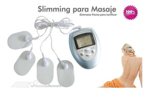 ¡ electro masajeador multifuncional terapia slim quema !!