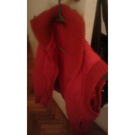 Envio Gratis! Chaleco Campera Rojo Cuesta Blanca