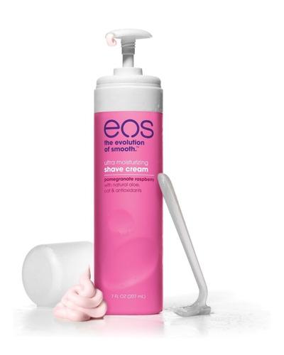 ¡ eos shave cream pomegranate crema para depilar rosado !!