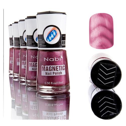 ¡ esmalte magnético 3d nabi tendencia decoración de uñas