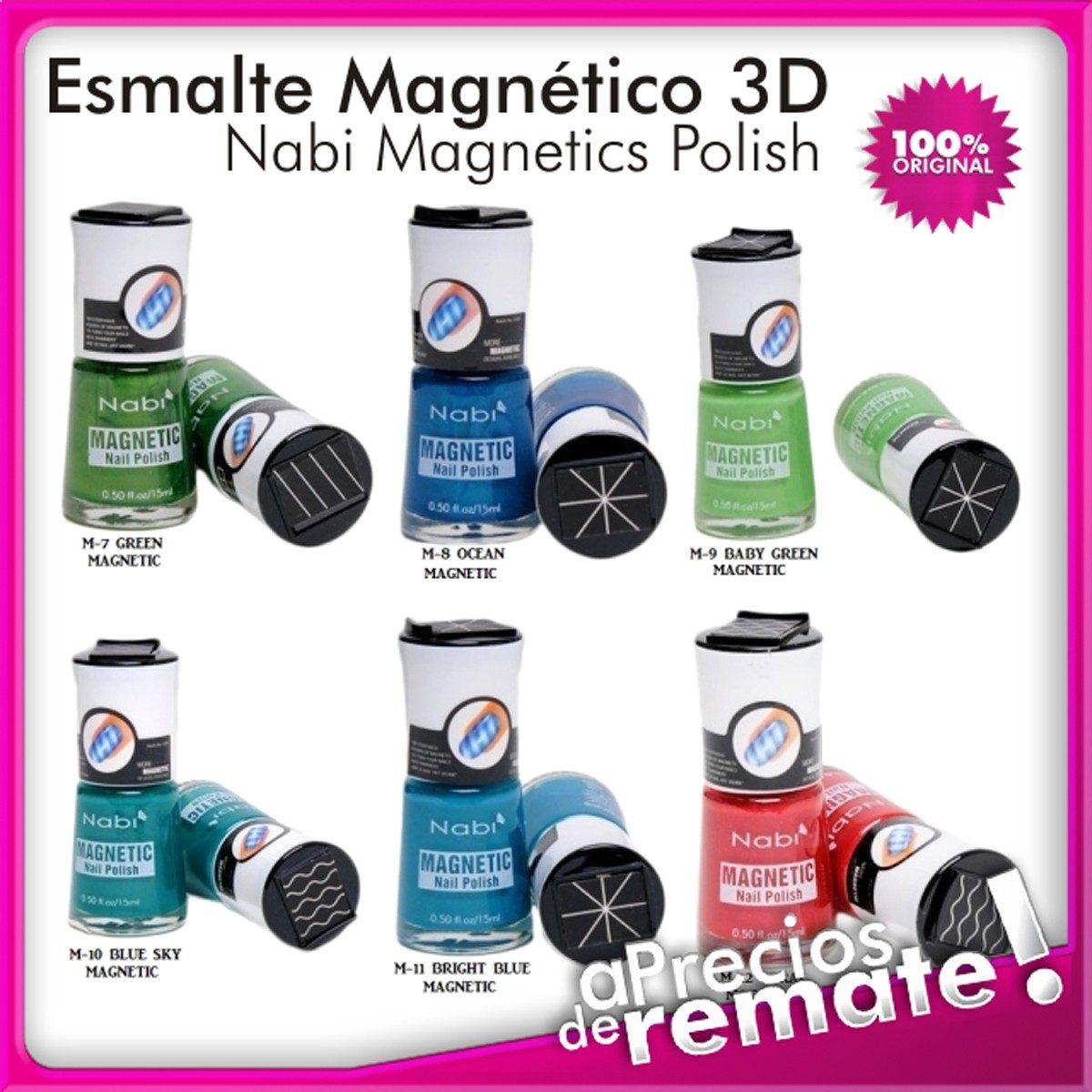 Esmalte Magnético 3d Nabi Tendencia Decoración De Uñas - $ 9.990 en ...