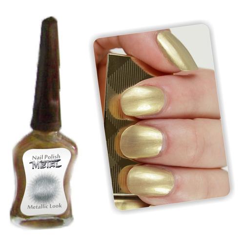 ¡ esmalte metal x art colores metalizalizados para uñas !!
