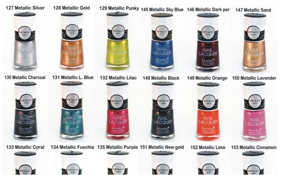 Esmalte Metálico Nabi Alto Brillo Color Secado Rápido !! - $ 9.990 ...
