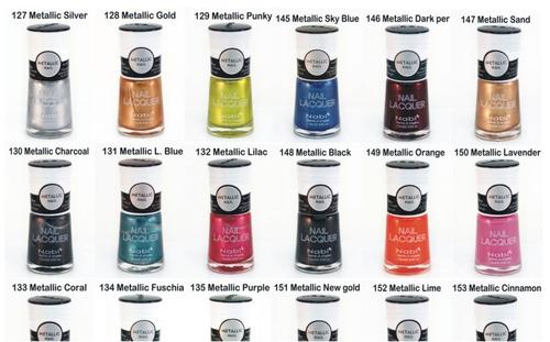 ¡ esmalte metálico nabi alto brillo color secado rápido !!