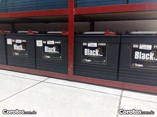 ( e.s.p.e.c.i.a.l ) baterias trojan negras para inversores
