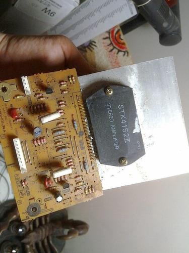 @@@ especial sanyo stk4152 ii  original c/placa disipador !