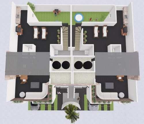 ¡¡ estrena hermoso departamento duplex con roof garden en juriquilla !!