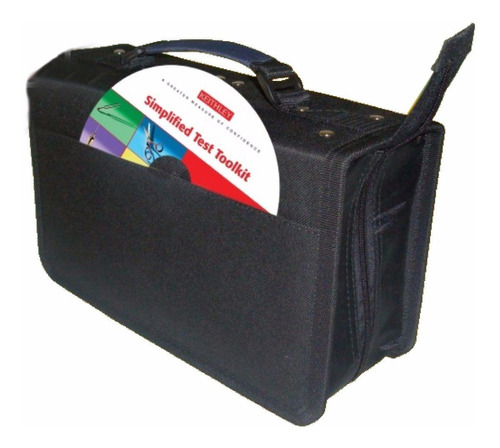¡ estuche porta-cd x120 doble argolla almacena cd dvd !!