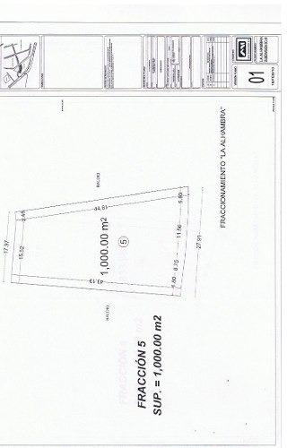 ¡¡ excelente terreno de 1000m2 en venta sobre blvd centro sur !!
